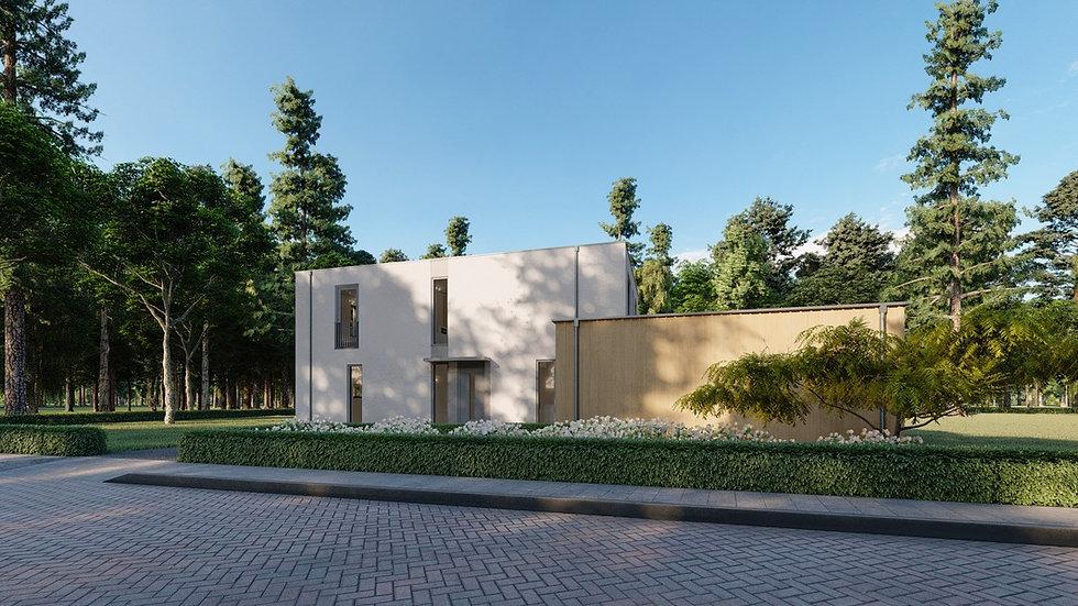 Villa ontwerp Oosterwold Almere