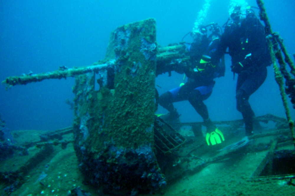 diving croatia, s-57