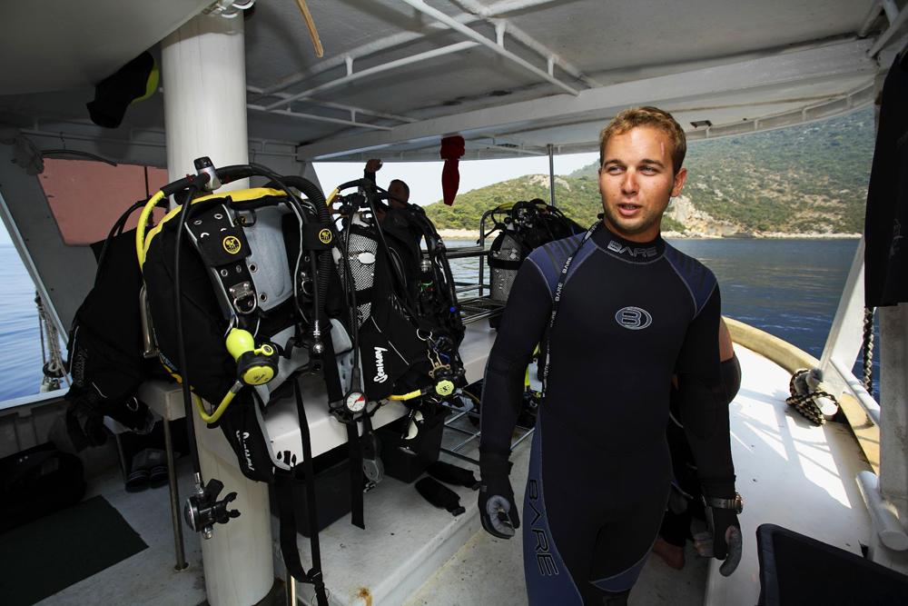 diving zuljana