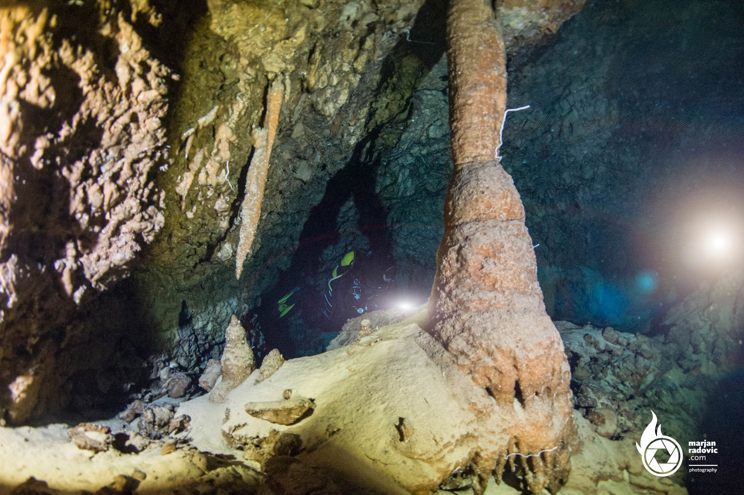 Croatia Cave Diving