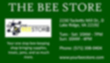 The Bee Store contact info.jpg