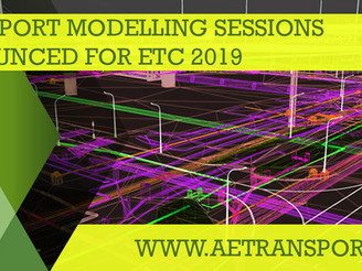 Transport Modelling sessions announced for ETC 2019