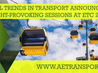2018 European Transport Conference Examines Global Trends in Transport