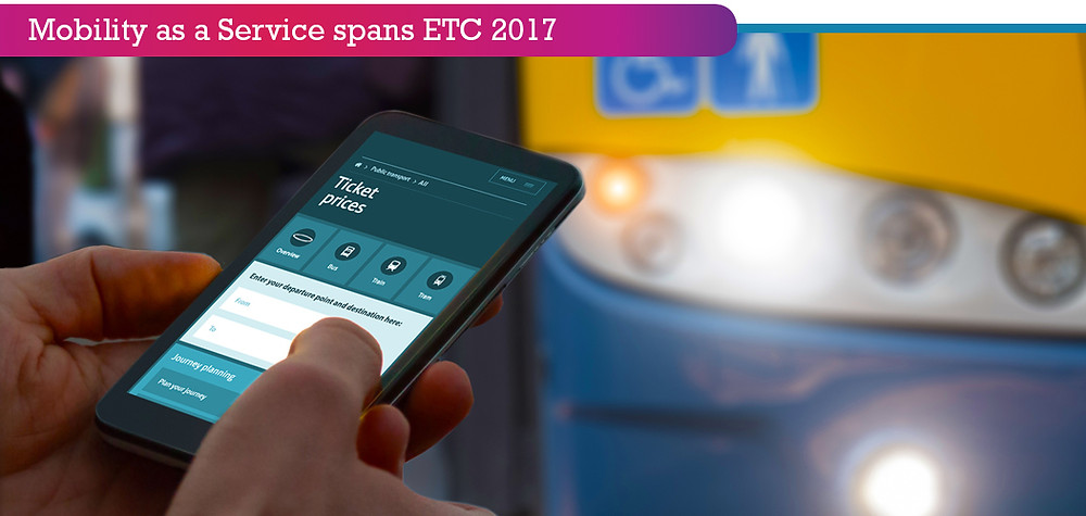 Mobility as a service programme announced for this years' ETC 2017