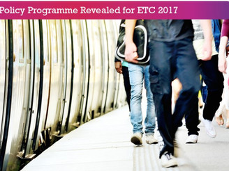 Rail Planning & Policy program announced for this years' ETC 2017