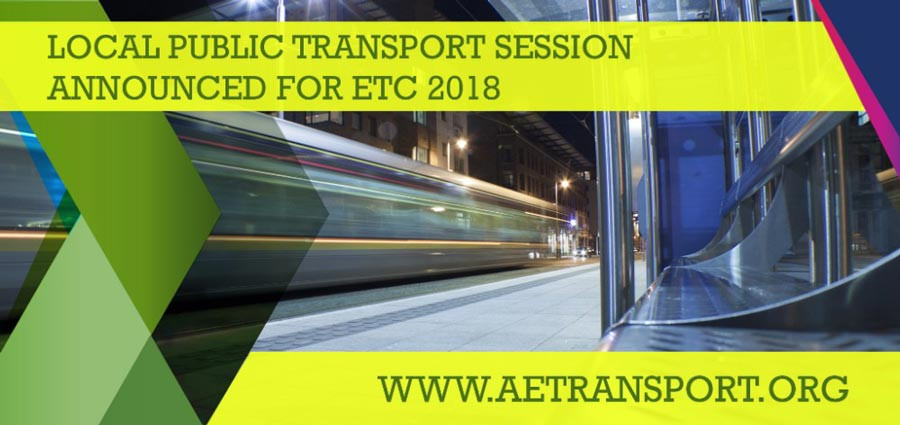 2018 European Transport Conference - Local Public Transport session
