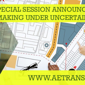 Decision making under uncertainty, session announced at ETC 2018