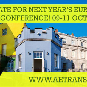 ETC 2019: Save the Date, 9 - 11 Oct