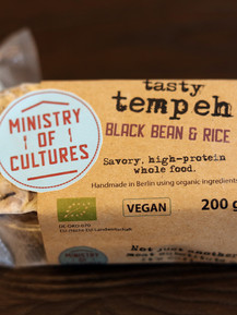 Black Bean & Rice Tempeh