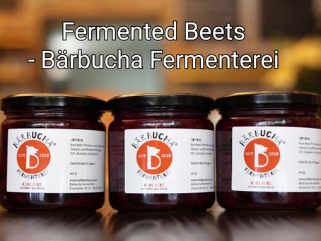 Lacto-fermented Beets - Bärbucha Fermenterei