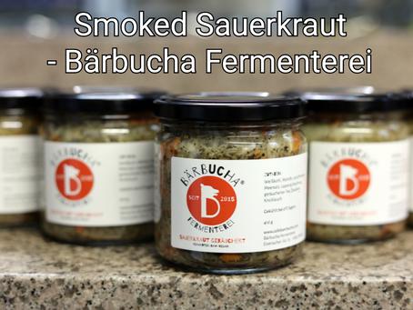 Smoked Sauerkraut - Bärbucha Fermenterei