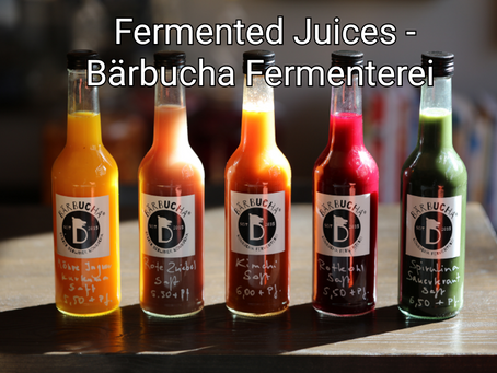 "Our Fermented ""Vegetable Juices""!"