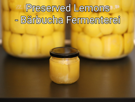 When life gives you lemons...you preserve them!