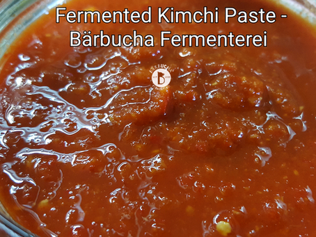 Kimchi Paste by Bärbucha Fermenterei
