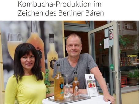 Kombucha-Produktion im Zeichen des Berliner Bären - Berliner Morgenpost