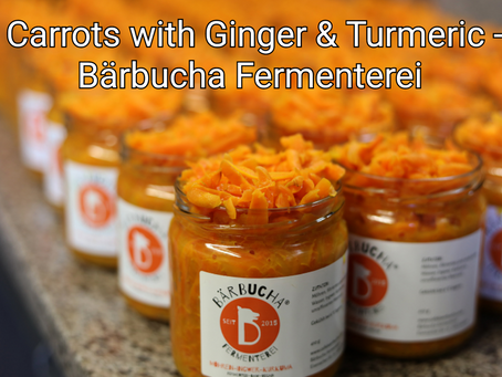 Carrots with Ginger & Turmeric