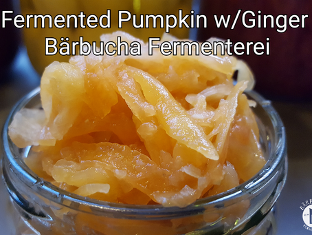 Lacto-fermented Pumpkin with Ginger!