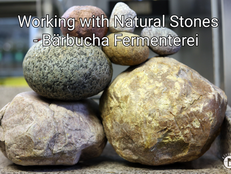 Working with Natural Stones!