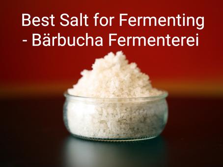 Best Salt for Fermenting!