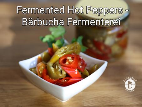Fermented Hot Peppers by Bärbucha Fermenterei