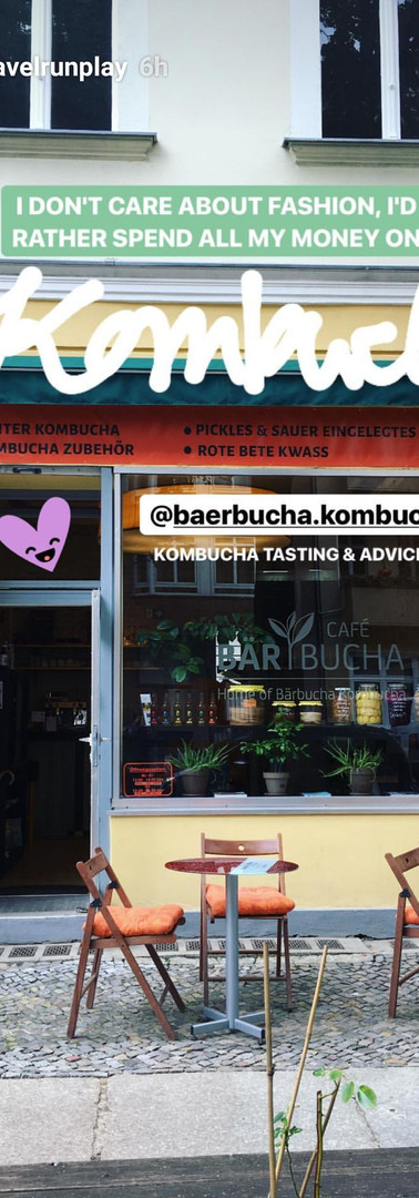 spend money on Kombucha...