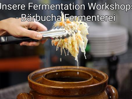 Unsere Fermentation Workshops! Was ewartet Sie?