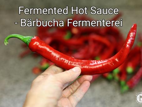 Fermented Hot Sauce - Bärbucha Fermenterei
