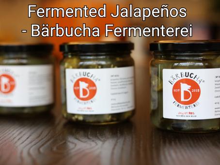 Fermented Jalapeños - Bärbucha Fermenterei
