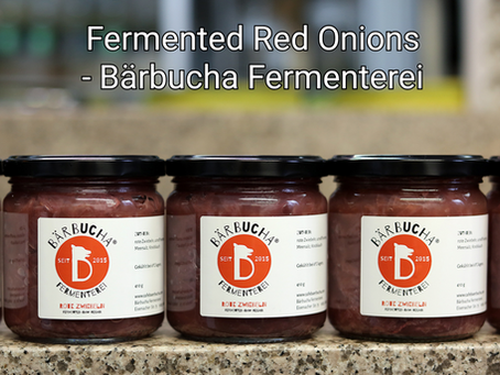 Fermented Red Onions