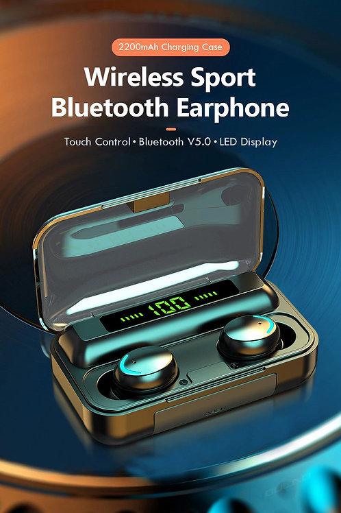 F8-9 Ear pods + 2200mAh Charging Box