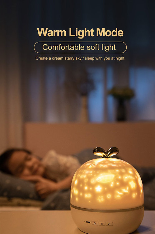 Night Light Projector and Bluetooth Speaker