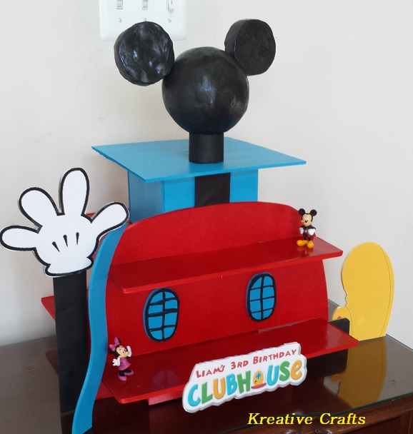 Mickey Mouse Clubhouse - 3 Tier  $50