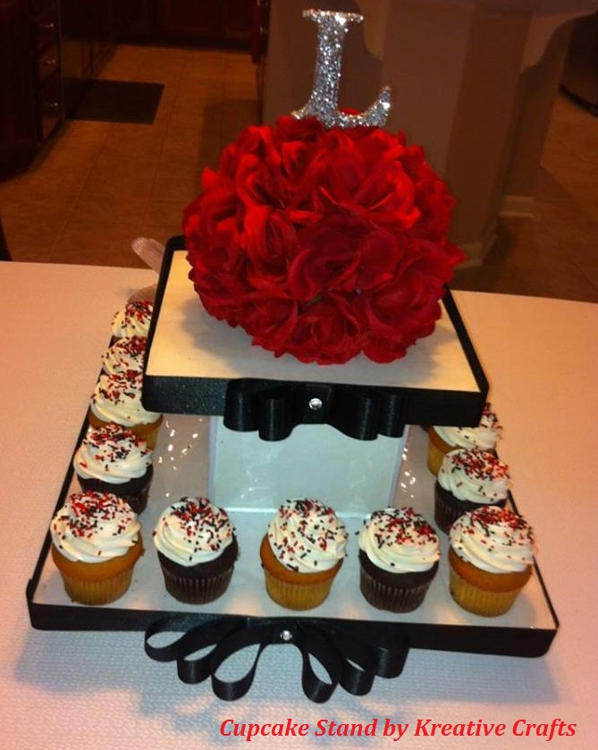 2 Tier Cupcake Stand - $35