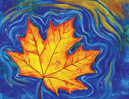 floating_maple_leaf