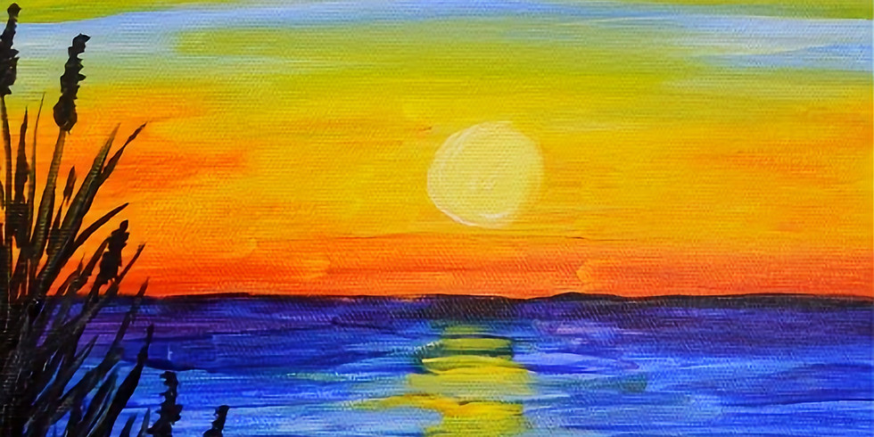Paint & Sip Night at Wendy's