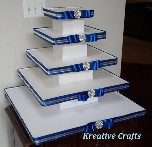 5 Tier Wedding Cupcake Stand - $75