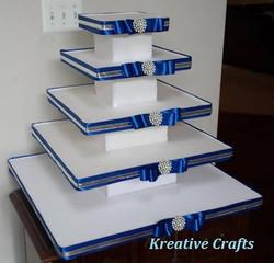 5 Tier Wedding Cupcake Stand - $75