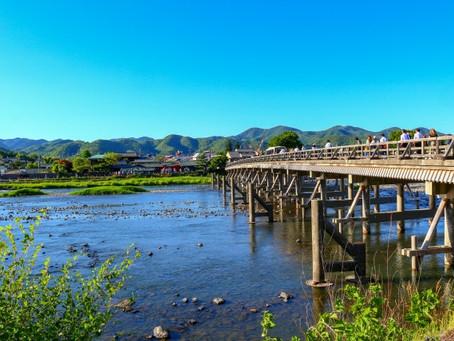 京都は梅雨明け、夏休みで家族旅行シーズンですね