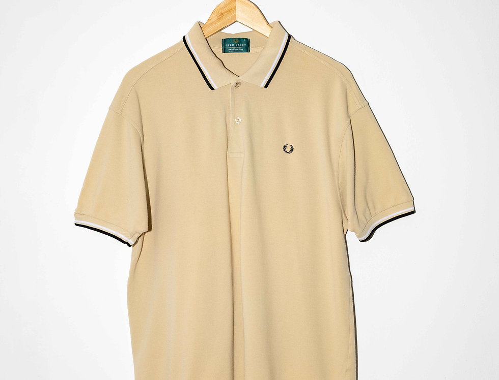 POLO BEIGE FRED PERRY