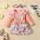 Thumbnail: Rosa Floral Bow Dress & Headband Set