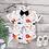 Thumbnail: Animal Printed Bodysuit With Bow Tie
