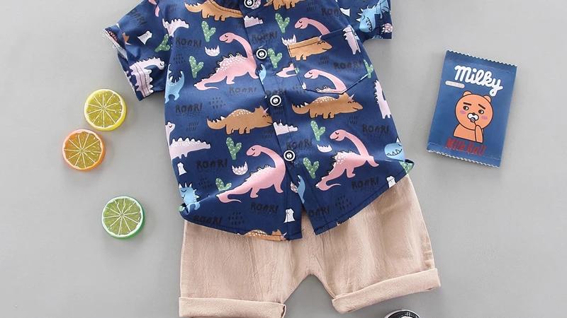 Dinosaur Shirt & Shorts Set