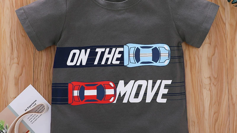 On The Move Cars T-Shirt