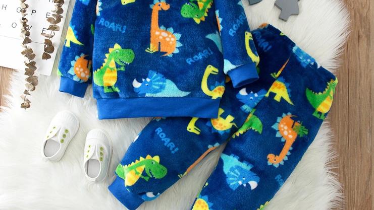 Cosy Dinosaur Pyjamas