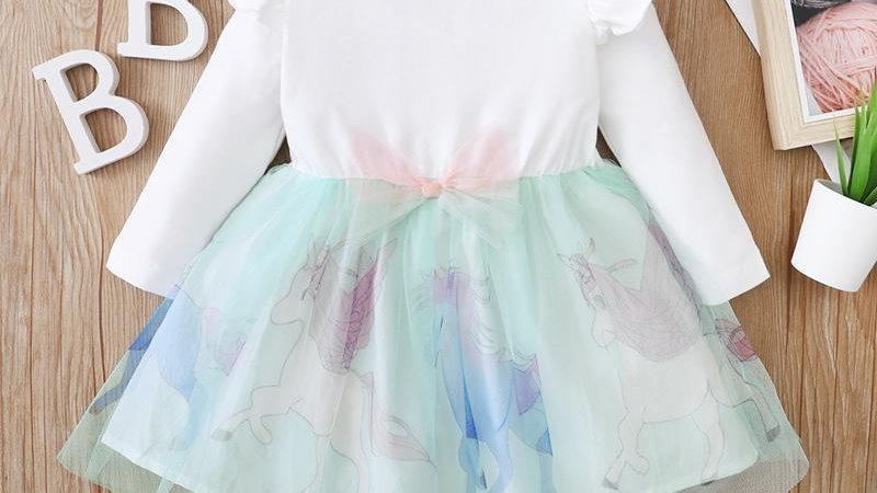 Unicorn Mesh Dress