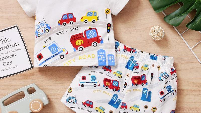City Road T-Shirt & Shorts Set