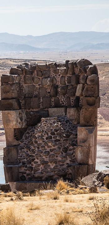 Peru Responsabile Chullpas Funeraria Sillustani