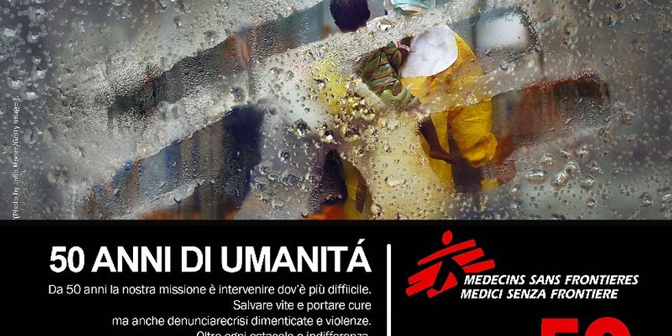 AWARD & READING   Premio Navicella d'Oro, Medici Senza Frontiere