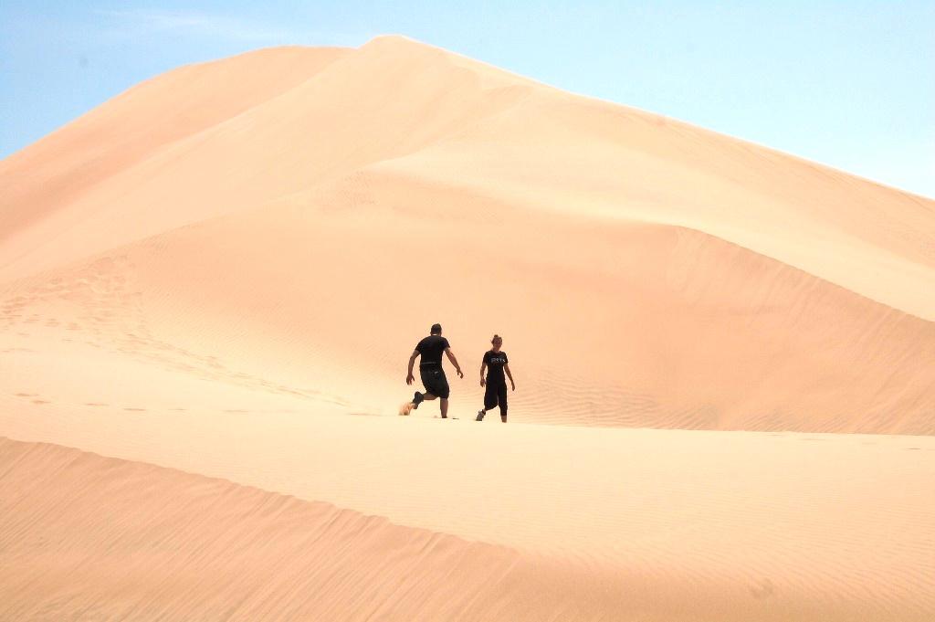 Corsa nel deserto!