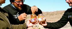 4x4 in Peru - nutella